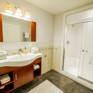 Brunswick Bathroom Remodeling with Full Shower