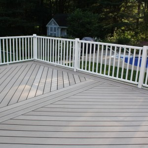 Composite Deck Construction in Albany