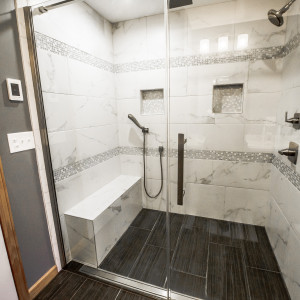 North Greenbush Wynantskill NY Bath Remodel Shower