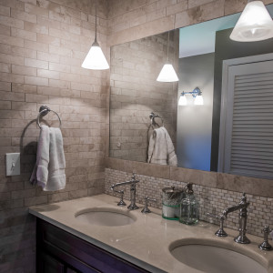 Spa Bathroom Makeover in Old Chatham NY
