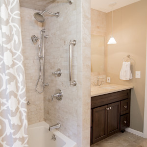 Spa Bathroom Remodel in Colonie NY