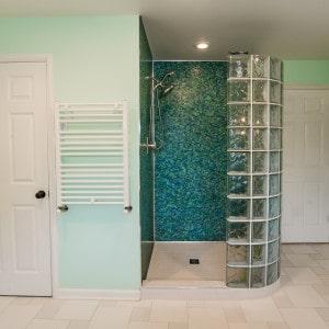 Troy Master bathroom Custom shower