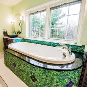 Troy master bathroom whirlpool tub