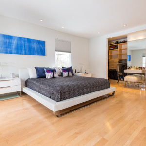 Voorheesville, NY Modern Master Bedroom Renovation