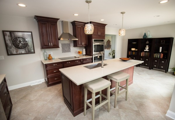 Colonie based Transitional Kitchen Remodeling in Latham