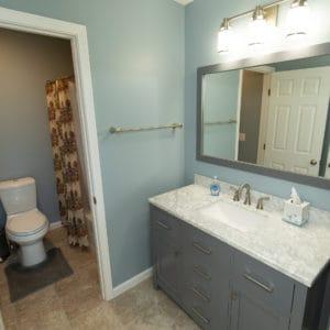 Custom Home Guest Bathroom
