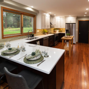 Slingerlands Kitchen Remodel U-shape Design