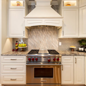 Kitchen Remodel Range Focal Point