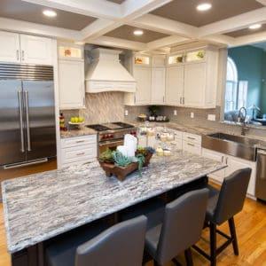 Schenectady Kitchen Remodel Open Concept Island