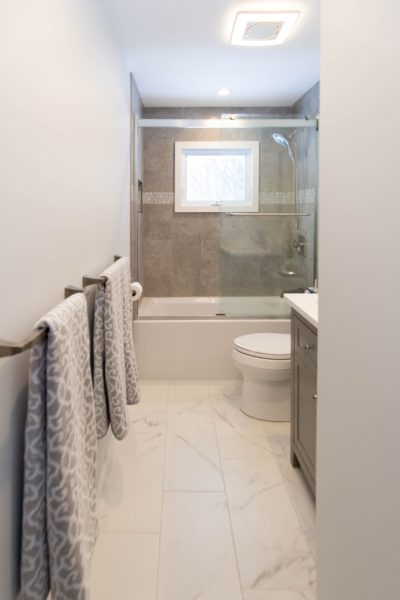 Bathroom Remodeling Contractor with Tile Flooring