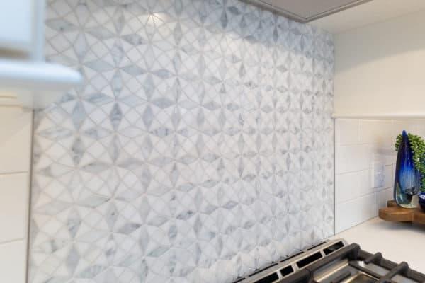 Colonie Guilderland Kitchen Remodel Marble Backsplash