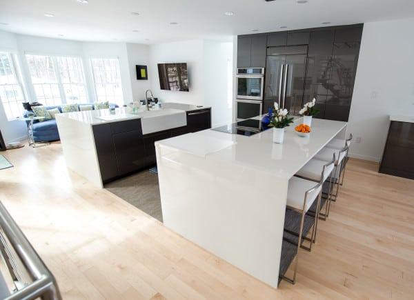 Voorheesville NY Modern Kitchen Remodel
